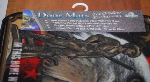 """Guns and Guts Door Mat #1870 17.7/"""" x 30/"""" Indoor//Outdoor God"""
