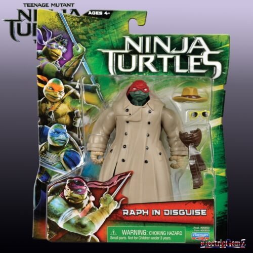 Raphael in Trenchcoat New Teenage Mutant Ninja Turtles Movie Action Figure