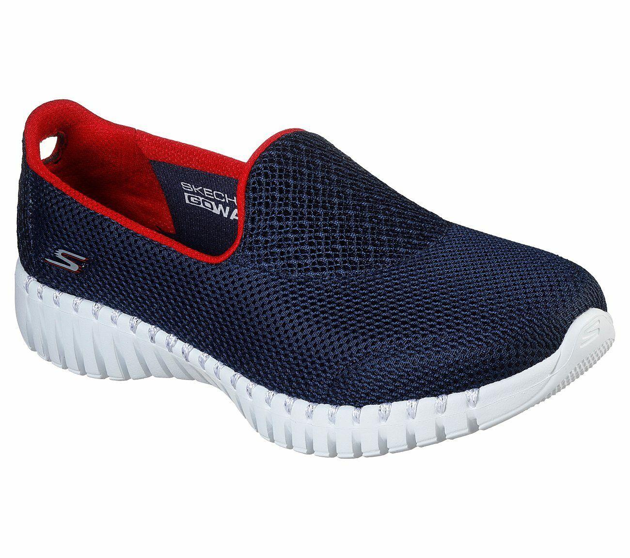 Skechers Go Marche Smart Marine rouge femmes Confort Athlétique chaussures 16708
