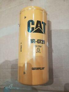 NEW-CAT-1R-0739-OIL-FILTER-GENUINE-CATERPILLAR-1R0739