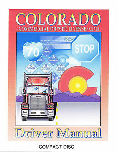 Commercial drivers license info.