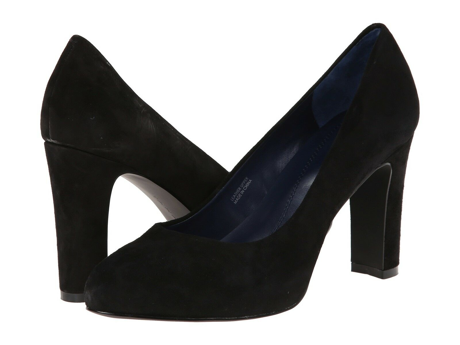TAHARI TA DOLLY BLACK SUEDE CLASSIC PUMP WOMEN Schuhe MULTISIZE