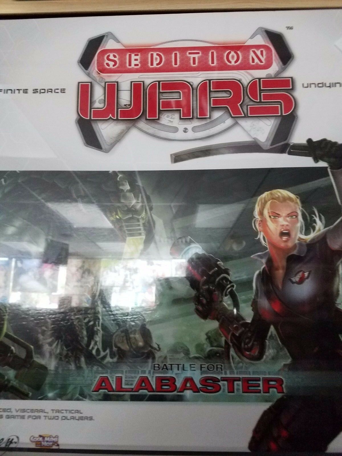 Sedition Wars: Battle for Alabaster - Board Game Cool Mini or Not Games New