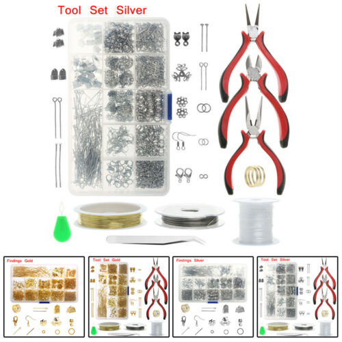 Wire Jewelry Making Starter Kit Sterling Silver And Repair Tools Craft Supplies