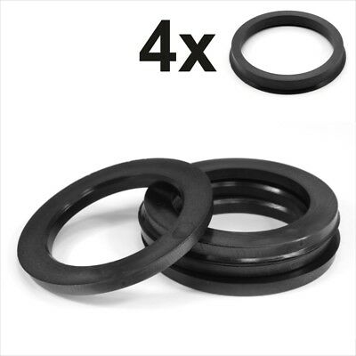Set 4x Spigot Rings 87,0-84,1 Car Alloy Wheel Hub centric spacer 87.0 to 84.1 mm