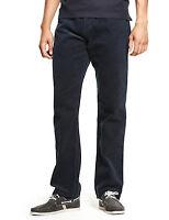 M&S Mens PURE Cotton 5 Pocket CORDUROY Trousers 40 Waist 29 L NAVY Cords *BNWT*