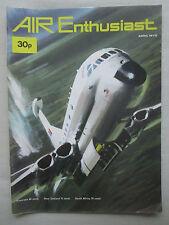 AIR ENTHUSIAST 4/1972 MIRAGE F INDIA PAKISTAN HORSA HEINKEL 280 VAK 191B SABRE