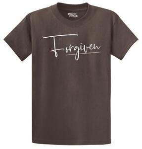 Mens-Forgiven-T-Shirt-Religious-Jesus-Christian-Shirt