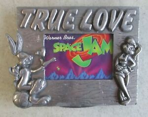 1996-TRISTAR-MERCHANDISE-WARNER-BROS-LOONEY-TUNES-SPACE-JAM-METAL-PICTURE-FRAME