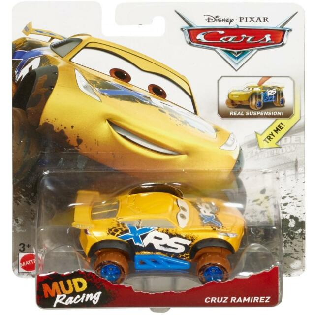 2018 Disney Pixar Cars Xrs Real Suspension Mud Racing Cruz Ramirez 1