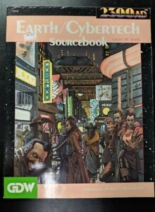 1x-2300AD-Earth-Cybertech-Sourcebook-Used-Good-RPG-Other