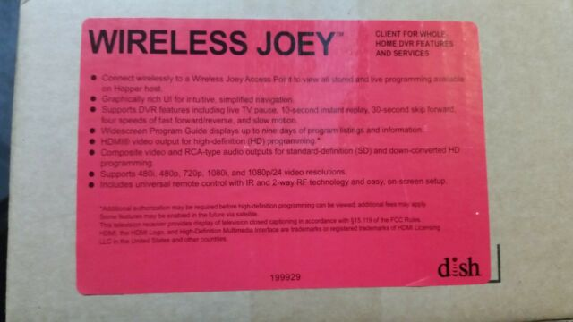 Dish 4K Joey Client for Whole Home DVR