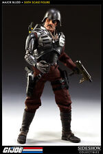 "Major Bludd The Enemy Cobra Mercenary 1/6 Military G.I. Joe 12"" Figur Sideshow"