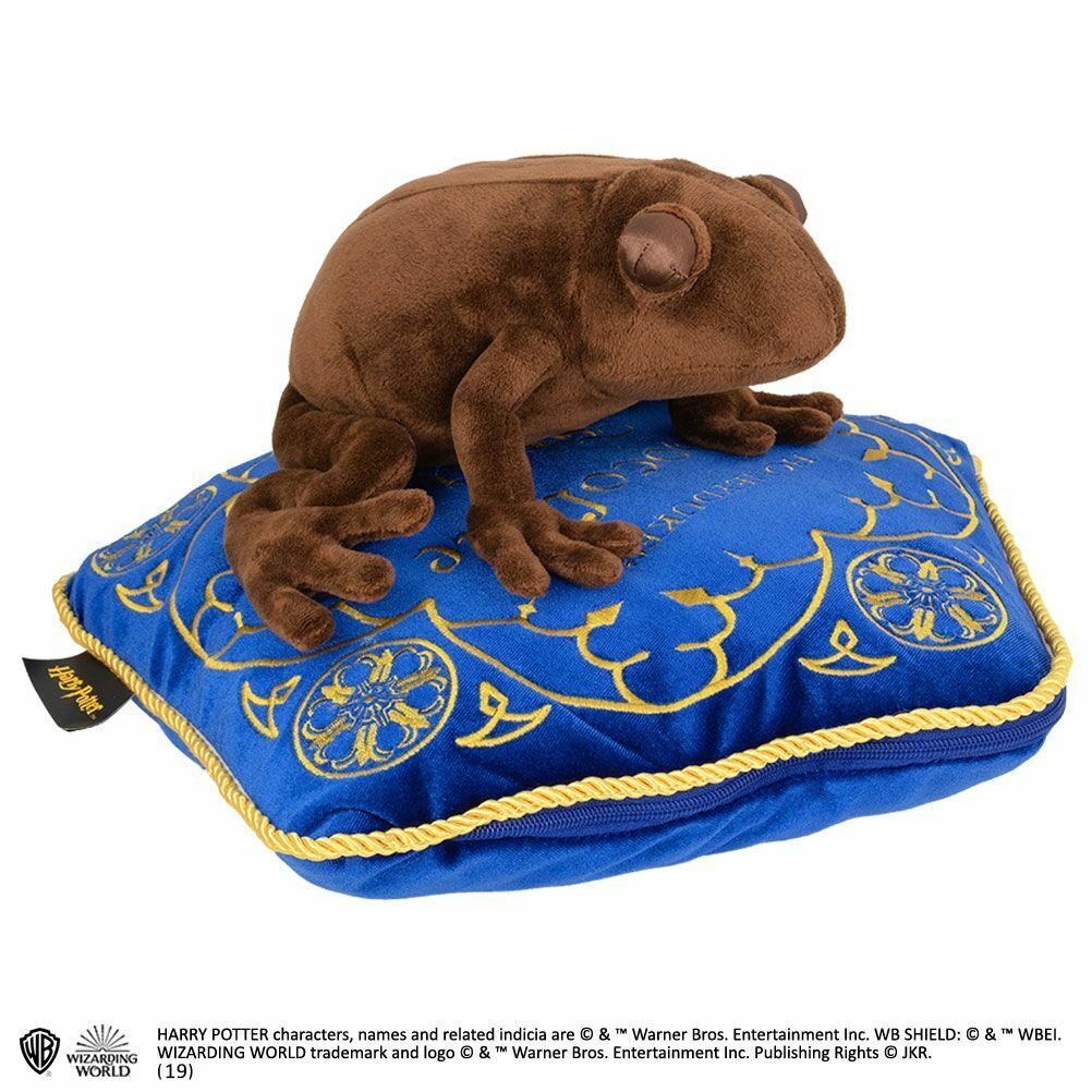 Harry Potter Chocolate Frog Plush Peluche NOBLE COLLECTIONS