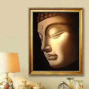 5D-DIY-Diamond-Painting-Buddha-head-Painting-Fashion-Embroidery-Crafts-Decor-M36