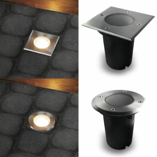 LED GU10 Bodenstrahler Bodeneinbaustrahler Bodeneinbauleuchten ohne Leuchtmittel