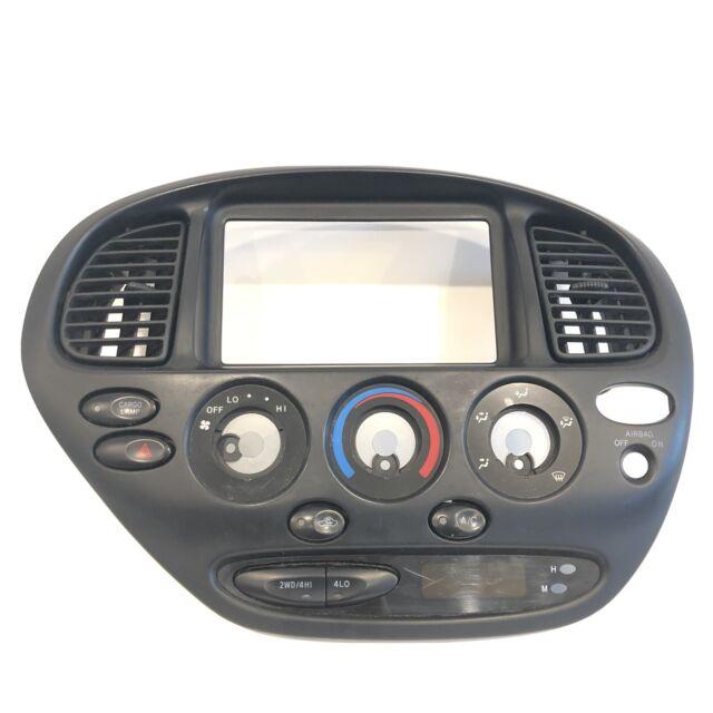 2002-2005 Toyota Tundra Climate Control & Radio Panel Trim Faceplate Bezel OEM