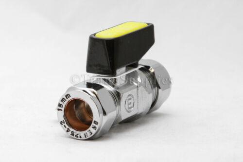Palanca De Mini De Gas Válvula de Bola Grifo Grifo Válvula de aislamiento 10mm permiso
