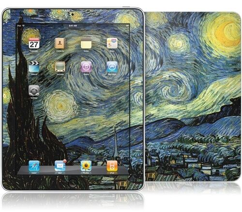 Gelaskins Gelaskin for iPad 1 van Gogh Starry Night