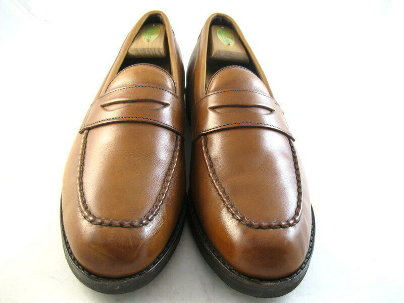 Allen Edmonds  SFO  MOCASSINS 9.5 D noyer (939)