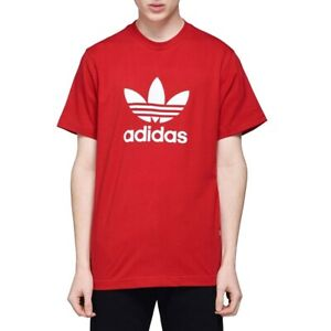 t shirt uomo adidas rossa