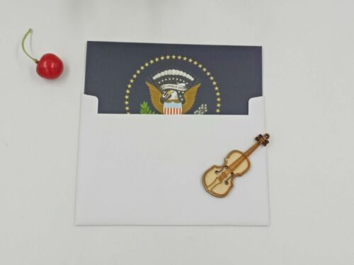 SET OF 10 WHITE HOUSE PRESIDENTIAL SEAL GREETINGS NOTE CARDS