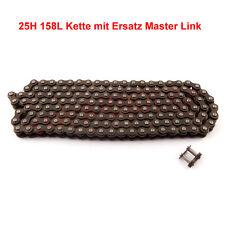 25H 158L Kette mit Ersatz Master Link für  47cc 49cc Mini Dirt ATV Pocket Bike
