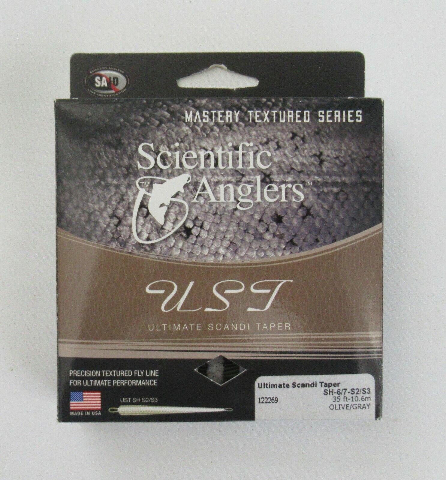 Scientific Anglers, Línea  Mosca Con Textura acuoso, Scandi forma cónica, SH-6 7-S2 S3  Ahorre 60% de descuento y envío rápido a todo el mundo.