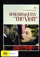 The Visit: Starring- Ingrid Berman, Anthony Quinn (DVD), Region-4, Like new