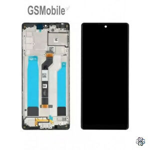 Display-Pantalla-LCD-Tactil-Touch-Frame-Marco-Negro-Sony-Xperia-L4-ORIGINAL