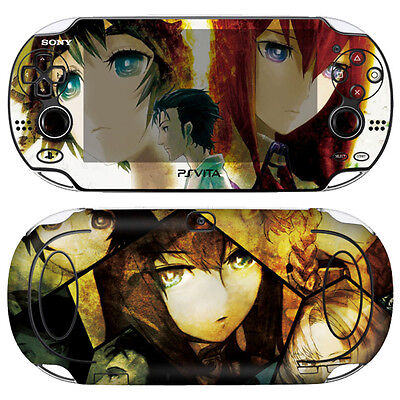 Able Skin Decal Sticker For Ps Vita 1st Gen Pch-1000 Series Steins Gate #01+free Gift Volume Large