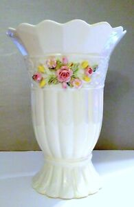 Belleek Annual Piece 2001 Limited Edition Tree of Life Vase