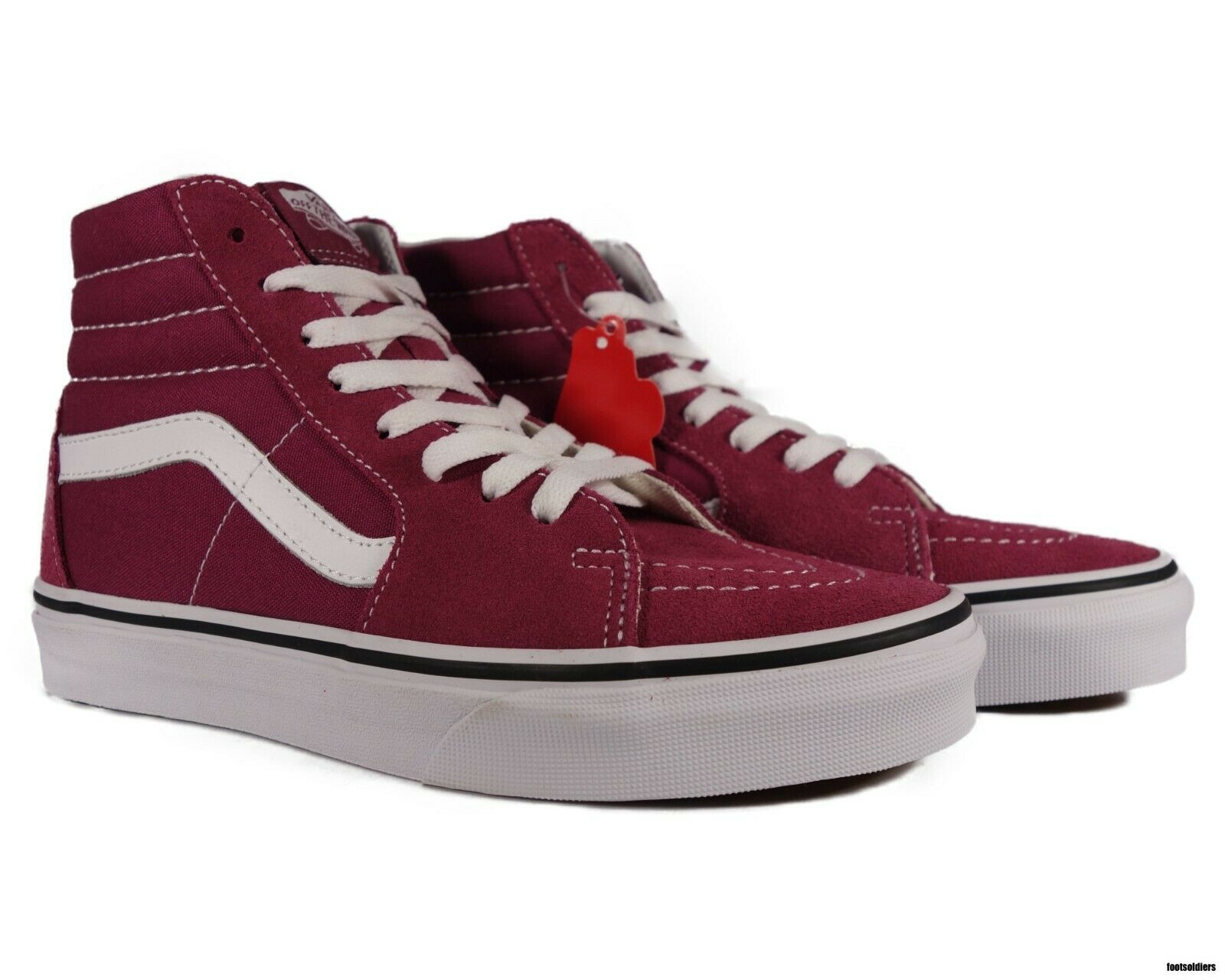 mens vans with roses