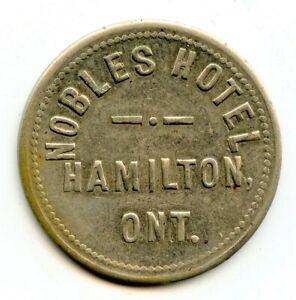 Breton 776 Hamilton Ontario Nobles Hotel 5 Cents