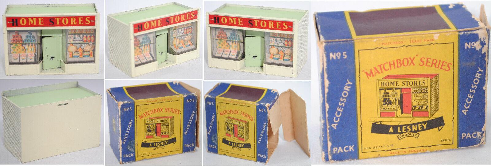 Matchbox A-5 Home Stores, Pale-Green Beige White Green, 57 Heinz 57 Cubes OXO Cubes