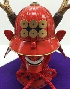 Samurai-Sanada-Yukimura-Kabuto-helmet-kit-1-4-Armor-ornament-Japanese-Sengoku