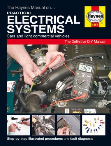 Haynes Auto Electrics Manual Car Electrics Repair Guide 4267 NEW