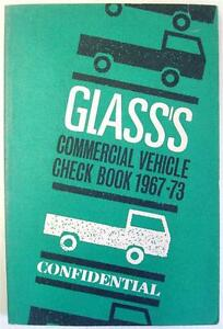 GLASS'S COMMERCIAL VEHICLE CONFIDENTIAL UK Check Book 1967-73