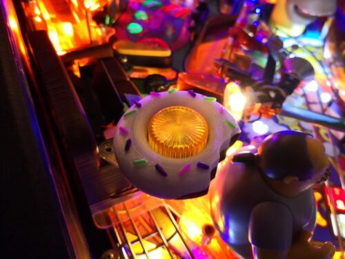 Pinball mods TSPP Décor Flipper The Simpsons Pinball Party Donut