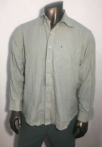 IZOD-Dress-Shirts-Size-L-Large-Men-s-Long-Sleeve-100-Cotton-Shirt