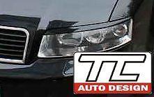 Audi A4 typ B6 / 8E  -eyebrows, eyelid, Scheinwerfenblende, brewki na reflektory