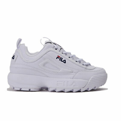 Shoes Fila Woman Sneakers Disruptor Low Wmn 1010302.1FG White Original | eBay