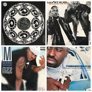 OLD-School-RAP-HIPHOP-R-amp-B-DJ-records-12-034-PROMO-vinyls-33rpm-7-10-records
