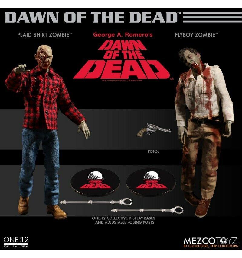 Mezco - One  12  - Dawn of the Dead Boxed Set - Zombie G.A.Romero