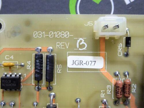 USED York 031-01080 Chiller Control Board Rev.B