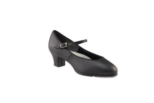 Footlight/' heeled tap shoe Capezio black /'Tap Jr