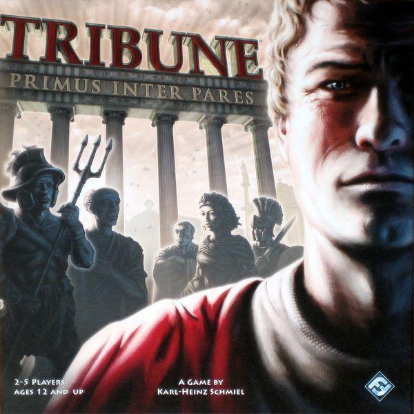 Tribune Board Game - Negotiate the Roman Factions for Control of Rome Senate