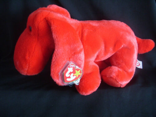 1 of 1 - TY BEANIE BUDDY ROVER THE RED DOG - RETIRED WITH TAG
