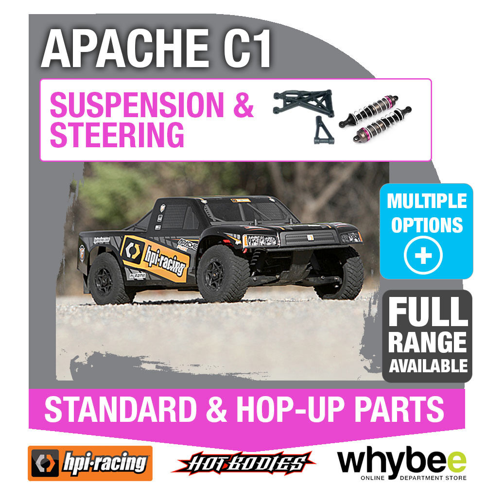 HPI APACHE C1 FLUX [Steering & Suspension] Genuine HPi Racing R C Parts