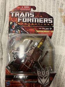 Transformers Generations Deluxe G1 Thrust Seeker Universe Classics Chug New